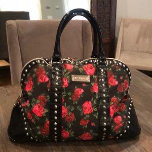 Betsy Johnson weekender bag